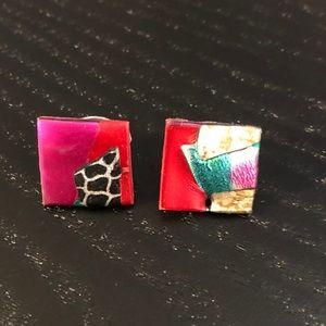 Handmade earrings from New Orleans